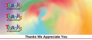 thanks - we appreciate you