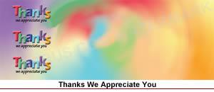 thanks - we appreciate you